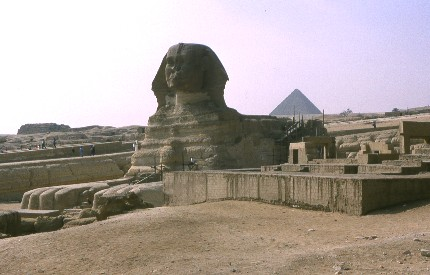 Giseh, le Sphinx