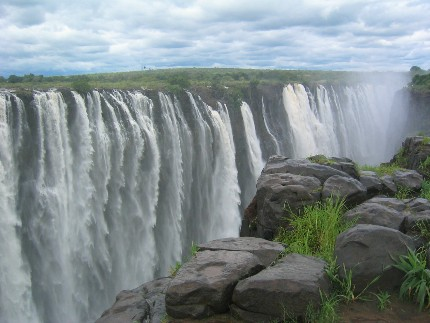 Zimbabwe photos liens utiles itin raires informations - Chutes victoria piscine du diable ...